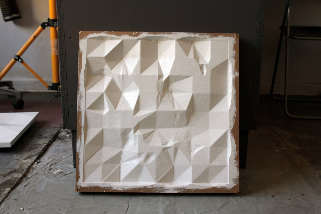 untitled polygon relief
