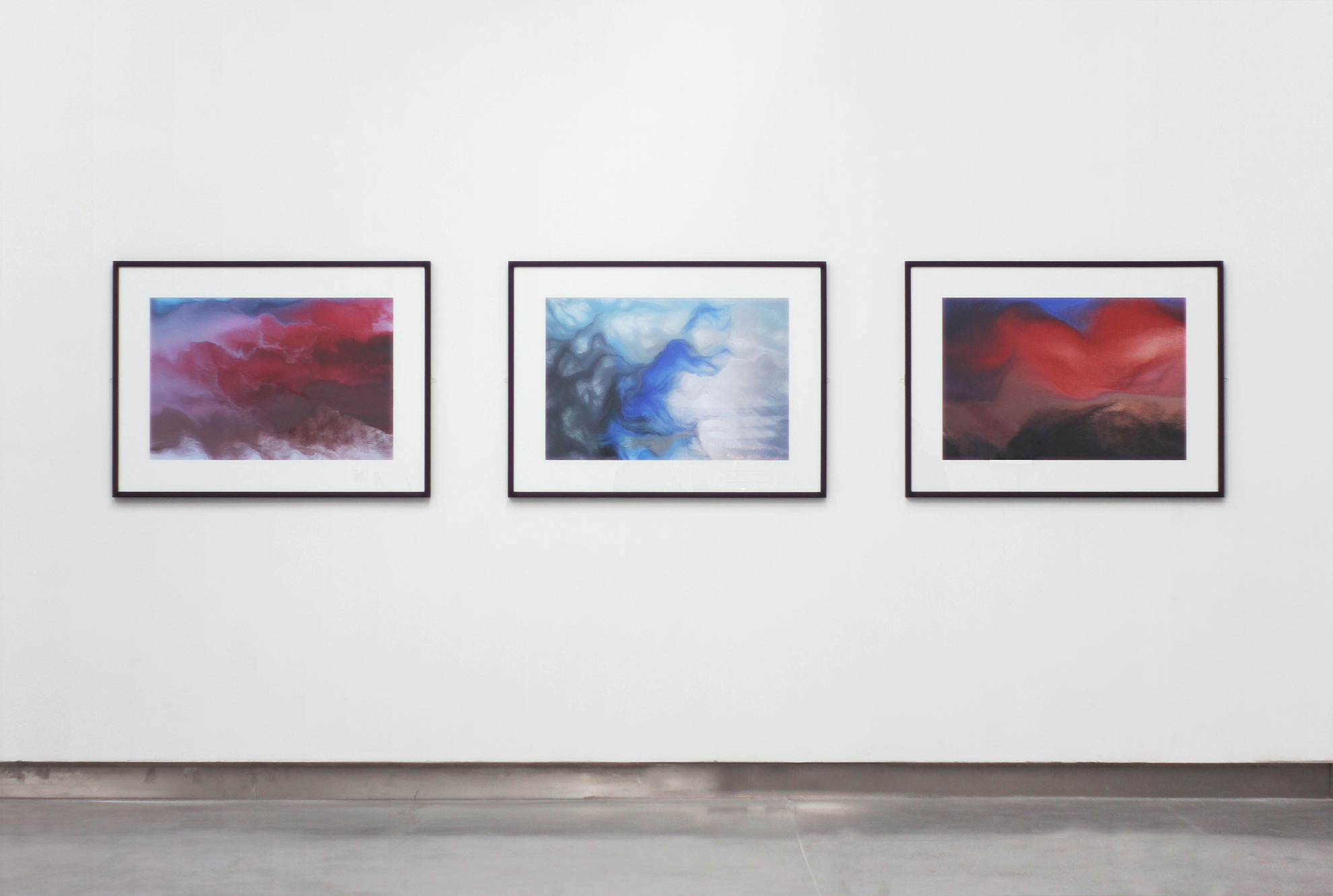 schwarm generative artwork installation view