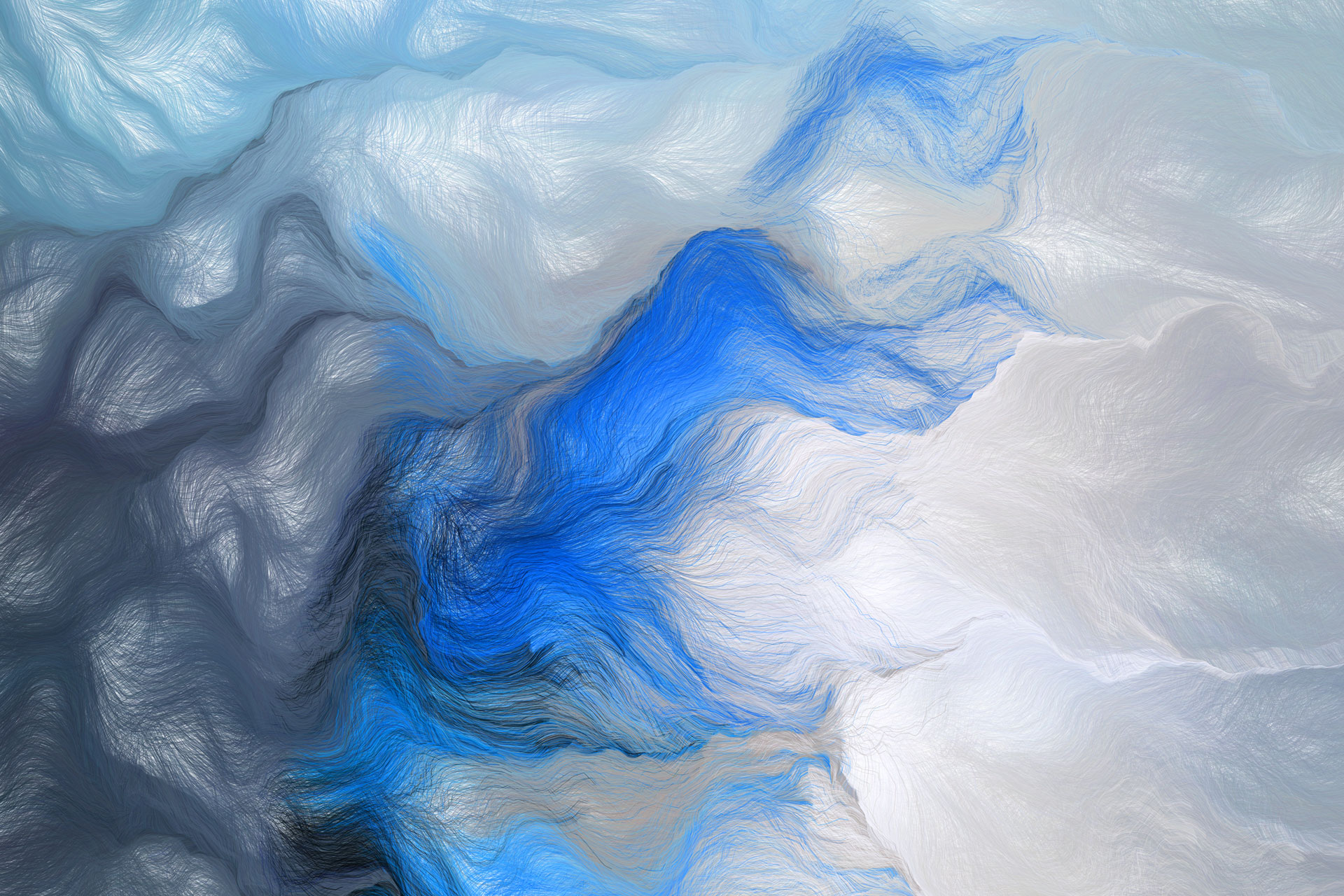 Generative prints made with custom software by Andreas Nicolas Fischer