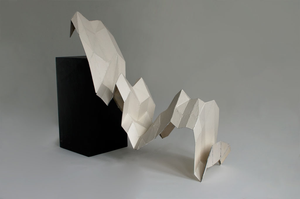 anfischer Indizes – stock market data sculpture